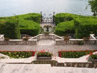 Looking out over the gardens facing Lake Como - taken from an upstairs doorway of the Villa Carlotta.