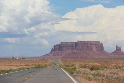 Arizona, on a way to Monument Valley