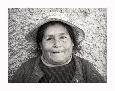 Lady in street