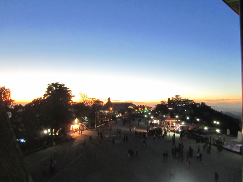 Shimla at nights