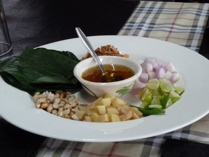 The Thai appetizer - an explosion of flavours