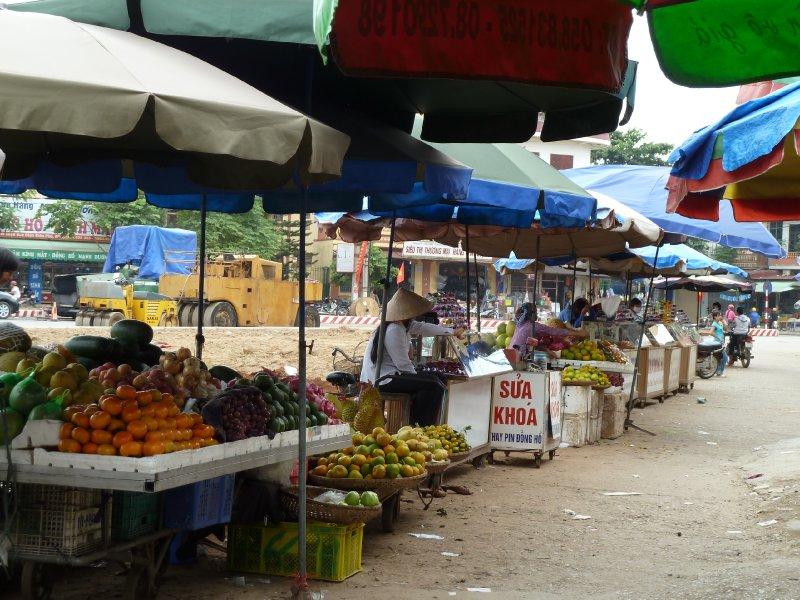 Finally - some good fruit stalls