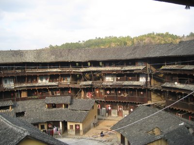 Inside our tulou...