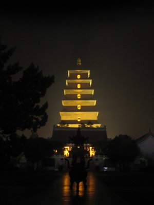 Big Goose Pagoda from a distance