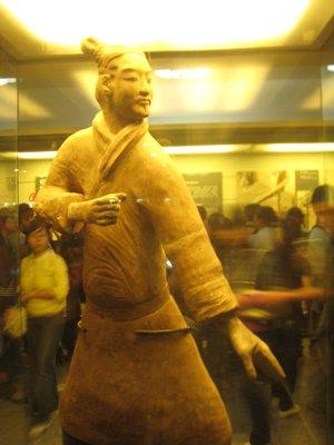 Terracotta Kung Fu Master