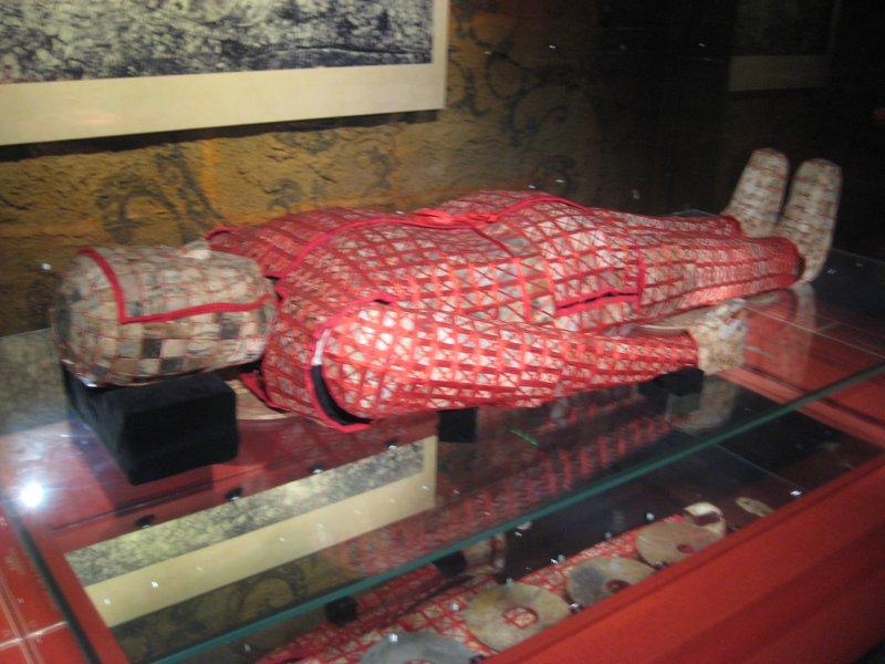 Zhao Mo's jade burial suit