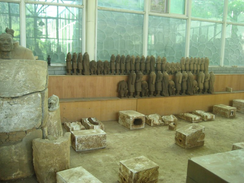 Terracotta soldier workshop