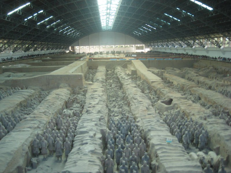 Terracotta Army pit 1