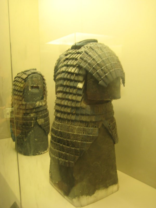 Armour made for the terracotta warriors