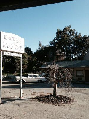 Bates motel & Psycho house