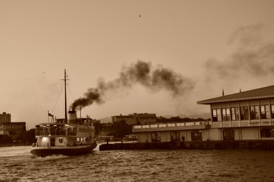 Bosphorus Ferry, Kadikoy Sunset