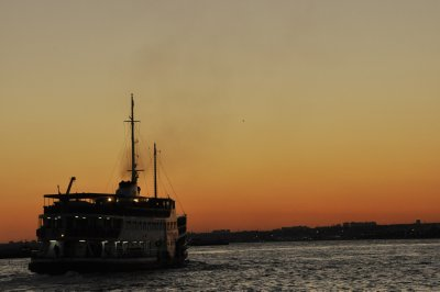 Bosphurus Ferry, Kadikoy Sunset