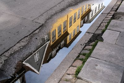 Puddle revealing