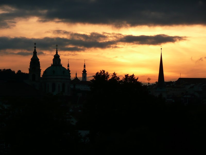 Just one more sunset at Mala Strana