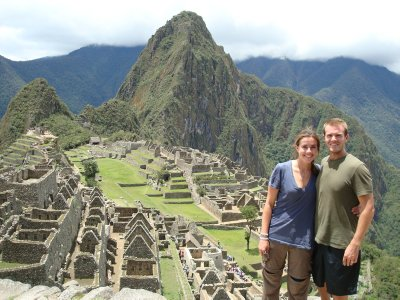 Machu Picchu - the postcard shot
