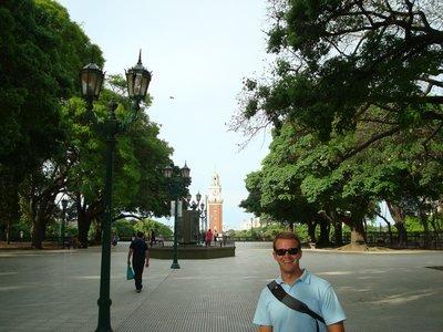Torre de Las Ingleses in Plaza San Martin