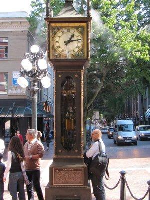 The Steam clock Gastown