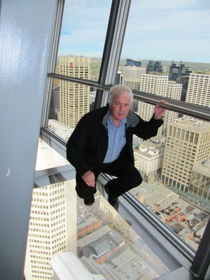 Iain in Calgary Tower