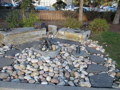 Downtown Banff sculpture
