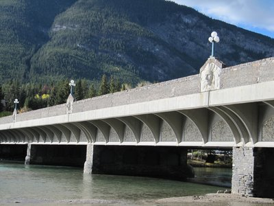 Bow River Bridge in Banff