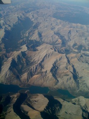 Rockies from above