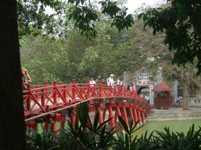 Ngoc Son Pagoda, Hoan Kiem Lake