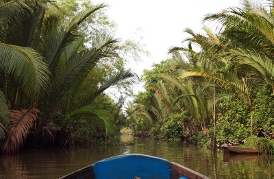One of the Mekong delta waterways