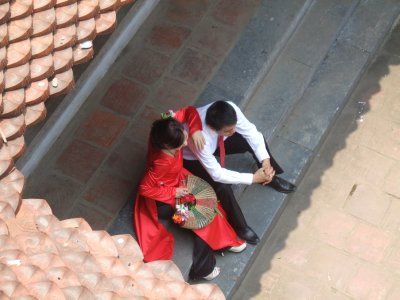 Bride & groom, Temple of Literature