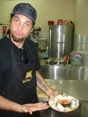 Brad at work