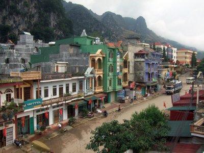 Dong Van main street