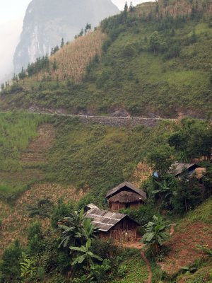 "On ""the most beautiful road in Vietnam"""