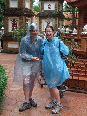Katy & Heather Tran Quoc Pagoda