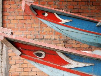 Mekong delta boat builders