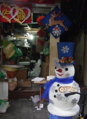 Snowman workshop, Hang Ma !