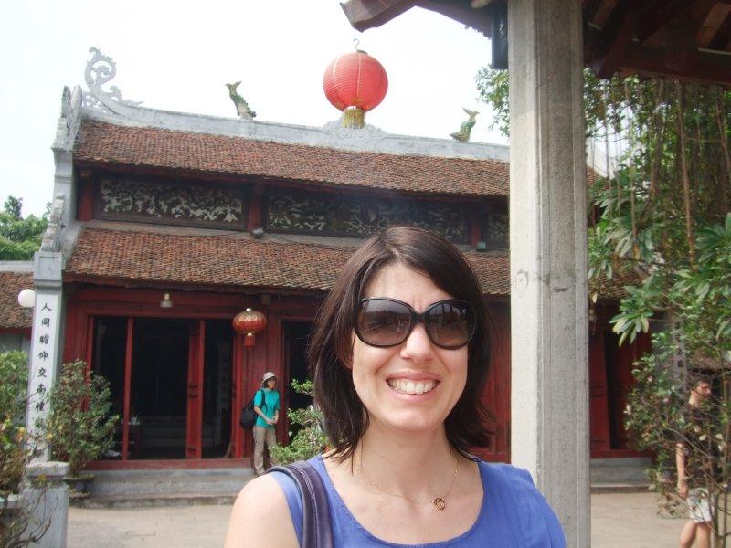 Anna at Ngoc Son, Hoan Kiem