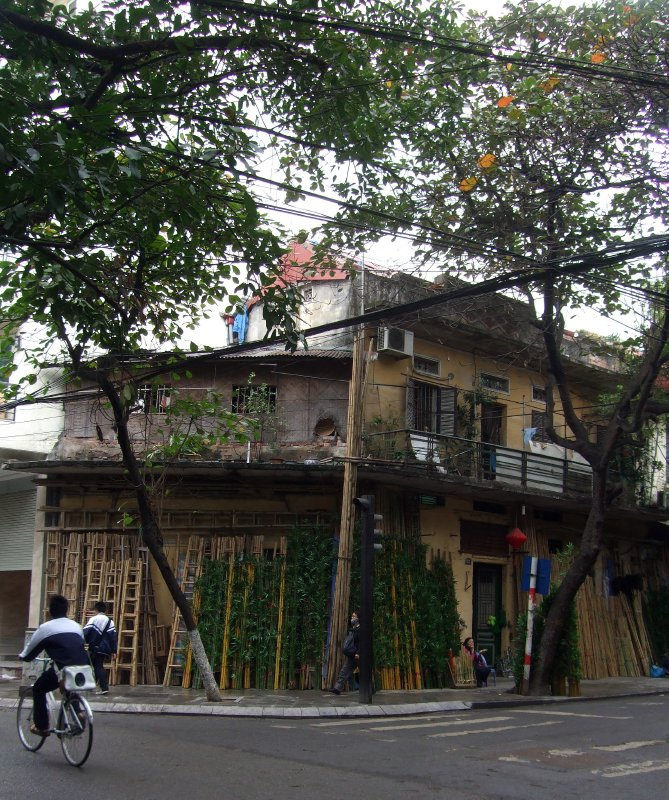 Bamboo Street,Old Quarter