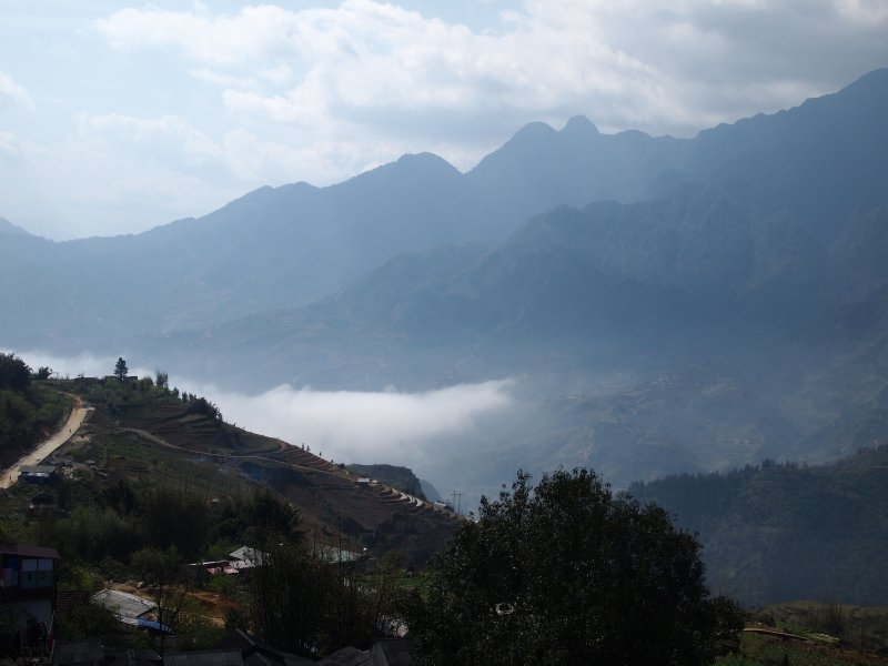 Sapa and down the valley