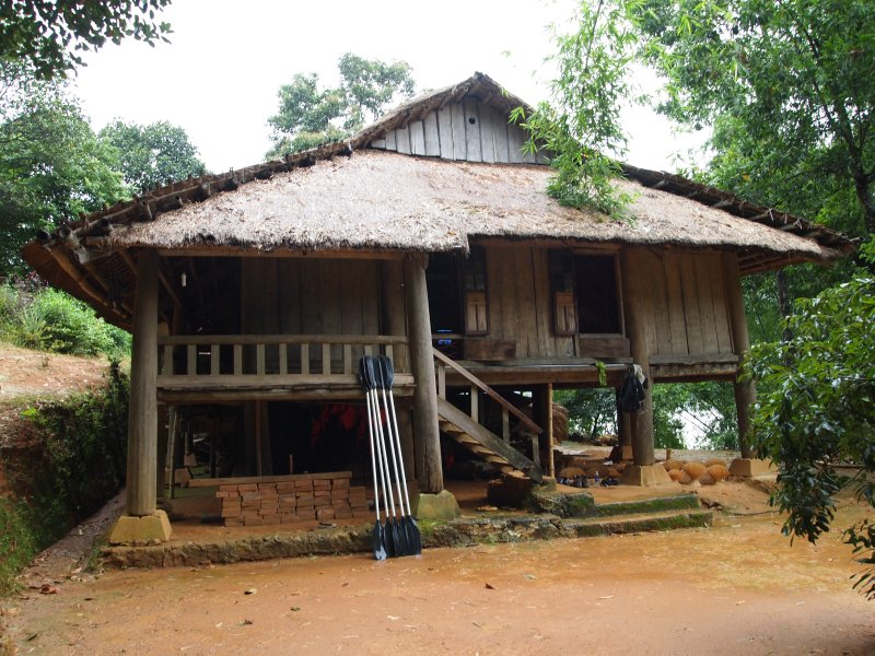 A White Thai house