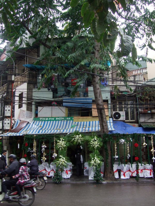 Wedding party venue, Old Quarter 15.12