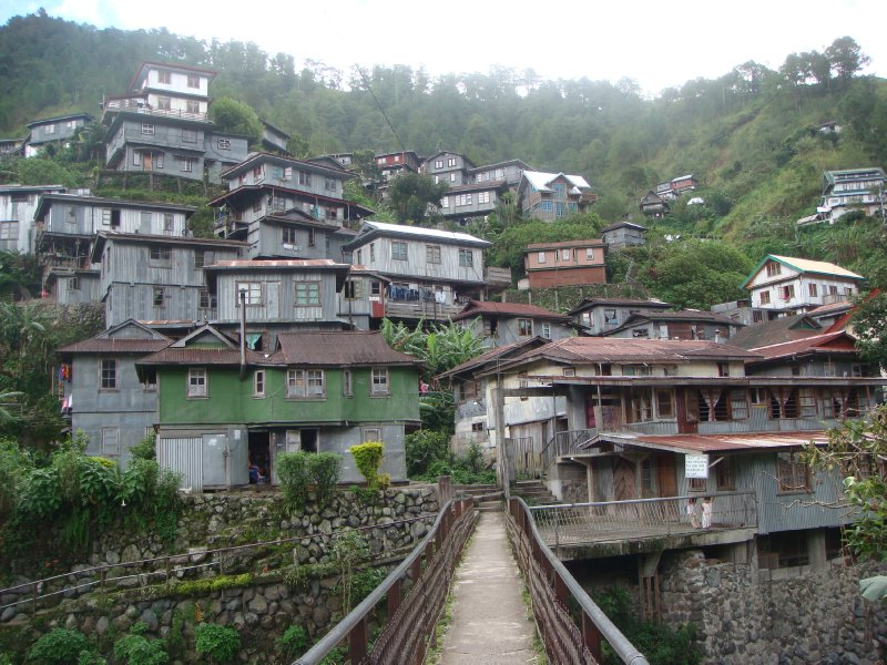 Barlig terraced houses