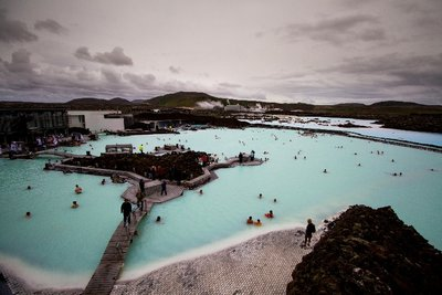 Blue Lagoon Aerial View