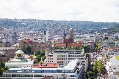 View of Stuttgart from Above