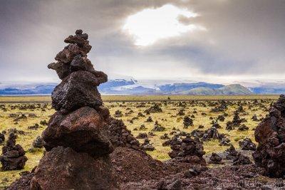 Volcanic Terrain in SE Iceland