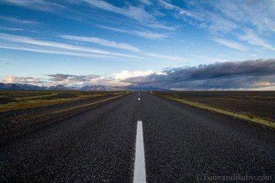 Drive to Jokulsaron