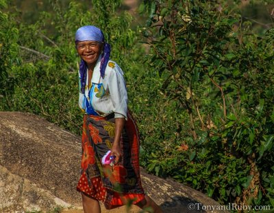 Beautiful Local Woman on her way to Market Day