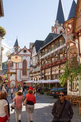 Adorable Bacharach in German Wine Country