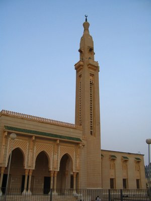 nice little mosque in Nouackchott