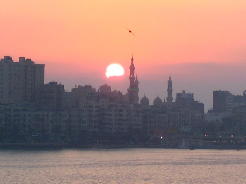 Sunset in Alexandria