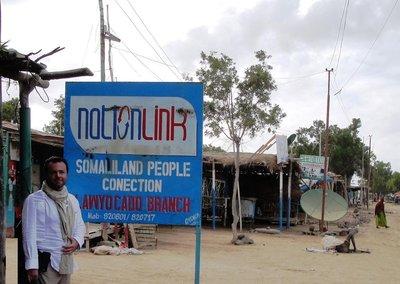 Somaliland border town - quite depressing