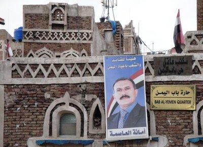 Controversial President Saleh